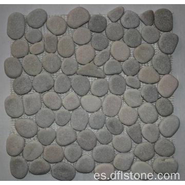 30.5 × 30.5cm popular honed azulejos de mosaico de piedra natural